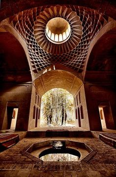Fin Garden Pavilion, Kashan, Iran