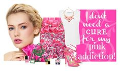 """""""Addicted to Pink"""" by katiethomas-2 ❤ liked on Polyvore"""