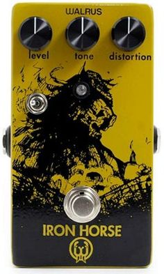 Walrus Audio Iron Horse Distortion Guitar Effects Pedals from SamAsh