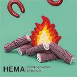 Maak je eigen HEMA vuur en download hier de werkbeschrijving.