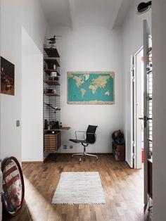 Un appartement vintage dans une ancienne usine - PLANETE DECO a homes world
