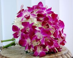 Dendrobium Orchid bouquet - amazing if you are doing flowers J.