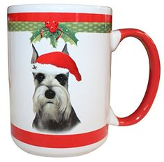 ES Pets Schnauzer Cropped Mug 15 oz >>> You can get additional details at the image link.(This is an Amazon affiliate link and I receive a commission for the sales)