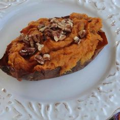 Thanksgiving Twice Baked Pumpkin-Sweet Potatoes #recipe #homemade #deliciousrecipes