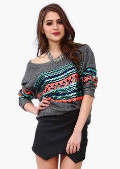 Disco Aztec Sweatshirt | Shop for Disco Aztec Sweatshirt Online