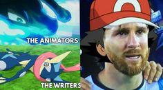 Pokémon Ash Pierde la liga Kalos Memes ! - YouTube