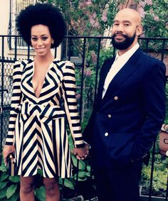 Solange's afro ---Solange Knowles Alan Ferguson Me and Rob! My Black Is Beautiful, Black Love, Beautiful People, Beautiful Women, Solange Knowles, Celebrity Couples, Celebrity Style, Celebrity Weddings, Afro