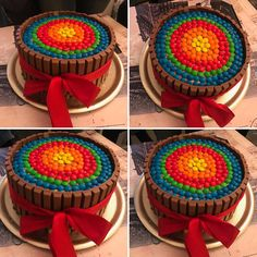 Kitkat cake