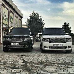 Range Rover couple