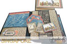 *ClayGuana - Cityscapes Mini album  Product - Graphic 45