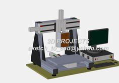 CNC  Ver 2 (x600y350z250) 1