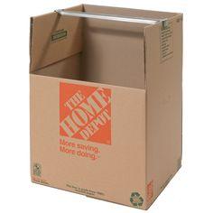 Wardrobe Box 24 Inch x 24 Inch x 34 Inch