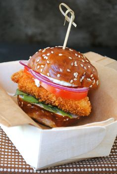 Chicken Slider with Herbed Mayo