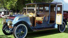 """1911 Renault Brewster - an """"Oldie but Goodie"""" Old Vintage Cars, Vintage Trucks, Old Trucks, Old Cars, Classic Trucks, Classic Cars, Carros Retro, Veteran Car, Nissan"""