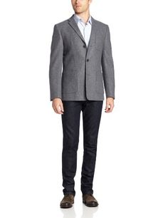 Ben Sherman Men's Wool Melton SB3 Blazer, Grey Stone, XX-Large Ben Sherman ++ You can get best price to buy this with big discount just for you.++