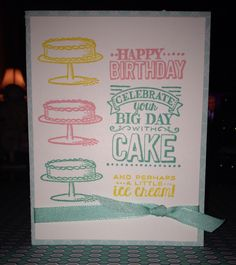 Big Day Stamp set from Stampin' Up!