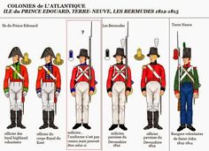 Canadian Sedentary Militia There were 40000 militia in Lower Canada, 10000 in Upper Canada and 10000 in the Maritimes. One fourth of each un. Saint John, Army Uniform, Uniform Dress, Military Uniforms, First French Empire, Independence War, Osprey Publishing, Crusader Knight, British Uniforms