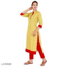 Dupatta Sets Women's Printed Rayon Kurta with Palazzos Kurta Fabric: Rayon Bottomwear Fabric: Rayon Fabric: Rayon Sleeve Length: Three-Quarter Sleeves Set Type: Kurta With Bottomwear Bottom Type: Palazzos Pattern: Printed Multipack: Single Sizes: XL (Bust Size: 42 in Kurta Length Size: 48 in Bottom Waist Size: 32 in Bottom Length Size: 38 in)  L (Bust Size: 40 in Kurta Length Size: 48 in Bottom Waist Size: 30 in Bottom Length Size: 38 in)  M (Bust Size: 38 in Kurta Length Size: 48 in Bottom Waist Size: 28 in Bottom Length Size: 38 in)  XXL (Bust Size: 44 in Kurta Length Size: 48 in Bottom Waist Size: 34 in Bottom Length Size: 38 in) Country of Origin: India Sizes Available: M, L, XL, XXL *Proof of Safe Delivery! Click to know on Safety Standards of Delivery Partners- https://ltl.sh/y_nZrAV3  Catalog Rating: ★3.9 (454)  Catalog Name: Women's Printed Rayon Kurta Sets CatalogID_936414 C74-SC1853 Code: 835-6150025-