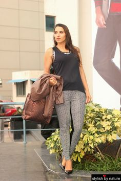 4ad7cb00823  Monochrome Muse from Reliance Trends!  StylishByNature The beauty of   wearing  patterned