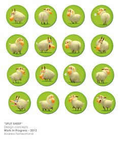 Battle Sheep on Behance