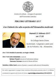 Italia Medievale: Con Umberto Eco alla scoperta dell'Alessandria medievale