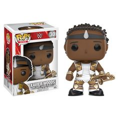 (affiliate link) WWE Xavier Woods Pop! Vinyl Figure