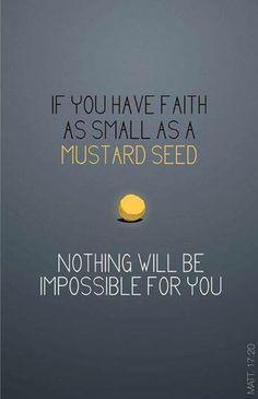 Faith Mustard Seed