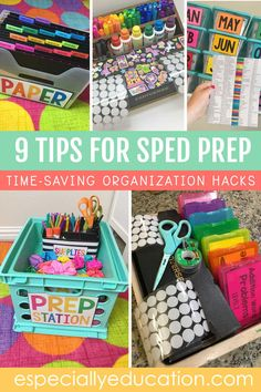9 Time-Saving Tips for SPED Prep