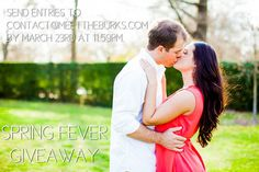 The Burks have spring fever. So in honor of that, we are giving away awesome wedding discounts & a free engagement session. Are you engaged?? Make sure to check out all the details here: http://meettheburks.com/engagements/spring-fever-giveaway/