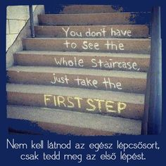 Tedd meg az első lépést!