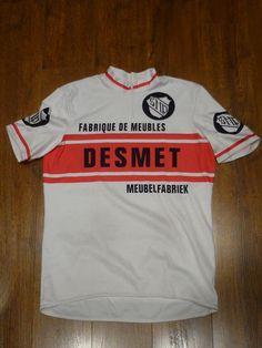 0b1c5b84a Vintage Decca Desmet Short Sleeve Cycling Jersey