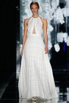 Barcelona Bridal Week. Lesseps. Modern wedding dress