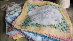 Floral handkerchief Invitation