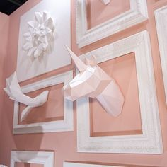 PAPA Collection attended at Seoul Living Design Fair 2016. The Exhibition concept was 'Blooming Garden'. White animals & blossoms made a beautiful combination with pink color wall.