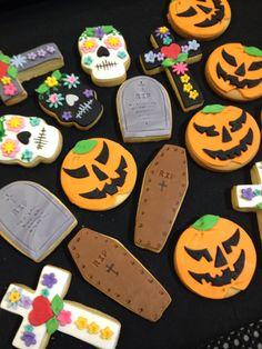 Halloween range of cookies