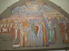 The martyrdom of Thomas Backett.  Museo diocesano di Treviso.  Secolo xiii.