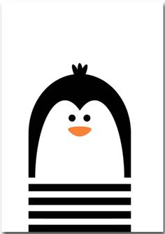 Affiche chambre bébé Corentin le pingouin Animal Nursery, Nursery Art, Penguin Nursery, Penguin Baby, Whimsical Nursery, Woodland Nursery Decor, Animal Art Prints, Baby Deer, Kids Prints