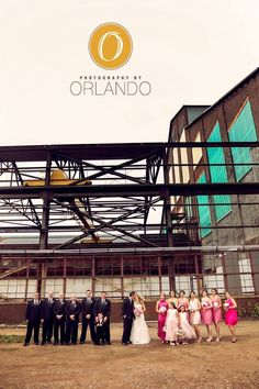 Love PhotographybyOrlando, Different shades of pink, bridal party Pink, vintage inspired wedding