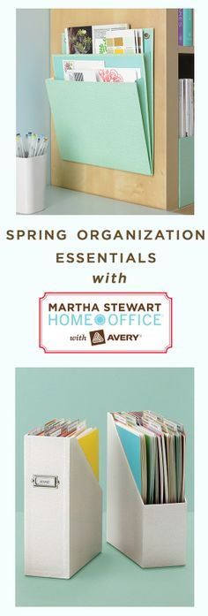 Nine #MarthaStewartHomeOffice products that will simplify your spring cleaning and organization. #springcleaning #organization #storage #affordable