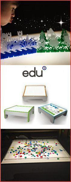 Edu2 Light Table and Light Table Toys | Epic Childhood