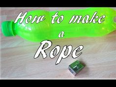 How to Make String from Plastic Bottles