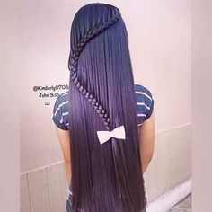 Hair goals – All Pictures Cute Little Girl Hairstyles, Fancy Hairstyles, Braided Hairstyles, Curly Hair Styles, Natural Hair Styles, Belle Hairstyle, Lace Front, Back To School Hairstyles, Fantasy Hair
