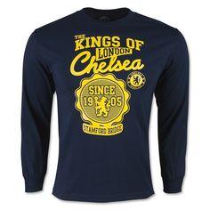Chelsea King of London LS T-Shirt