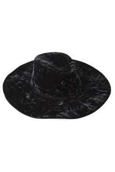 d717f5f38bd KILLSTAR Velvet Witch Brim Hat Brim Hat