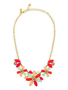 Gardens of Paris Statement Necklace from Kate Spade.
