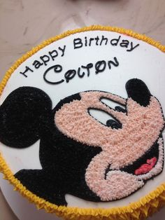 Mickey Mouse Cake Thanks To Careyi For The Ideainspiration
