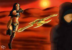 ACT V - SIVIR   ARTIST:Vivianne Predebon  PAGE:http://sweetagonies.deviantart.com/