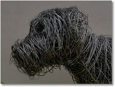 Wire Sculptures by Gary Tiplady