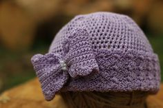 Hey, I found this really awesome Etsy listing at https://www.etsy.com/listing/280665450/purple-girl-hat-baby-girl-purple-hat