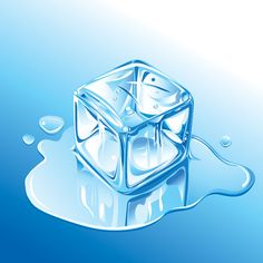 Free Ice Cube Vector #vector #graphics